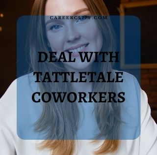 How to Handle a Tattletale Coworker