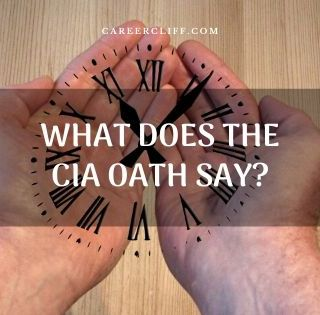 What Does the CIA Oath Say