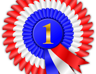 Number One Ribbon for Contest