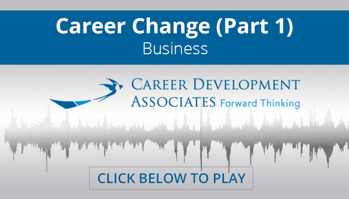 Career Change (Part 1)