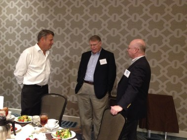 Bruce Day, Rick Christensen, and Mike Henry
