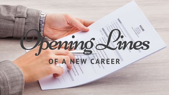 Opening Lines to a New Career by Rick Christensen