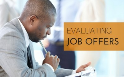 Evaluating Job Offers