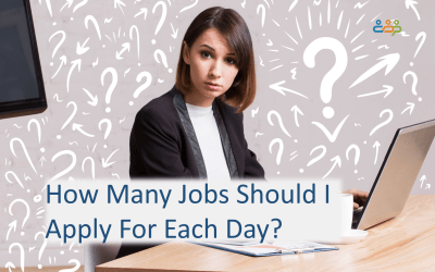 How many jobs should I apply for each day?