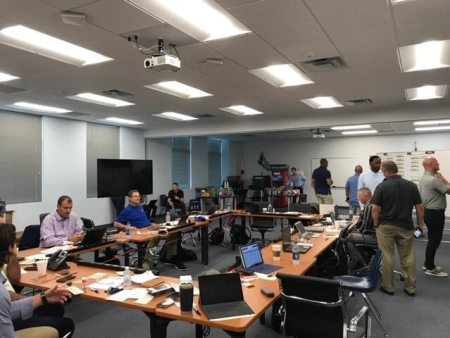 Mets Draft Room at Keiser University
