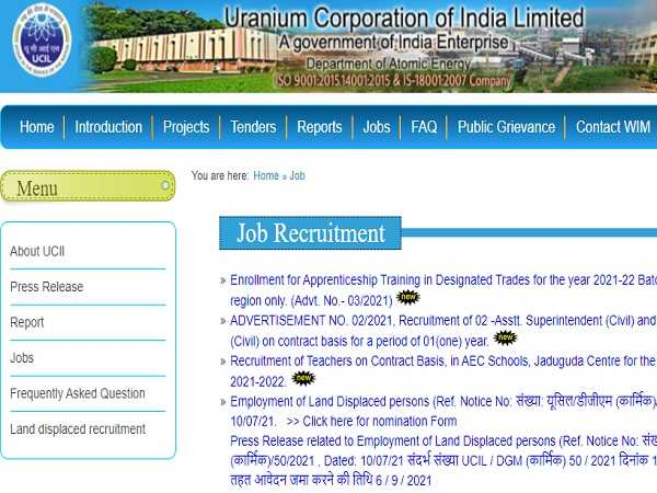 UCIL Recruitment 2021 For 242 Apprenticeship Posts, Apply Online Before October 29