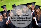 Fully-Funded Joint Scholarships to Study in Germany 2020