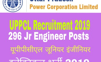 UPPCL Recruitment 2019 : 296 Jr Engineer Posts