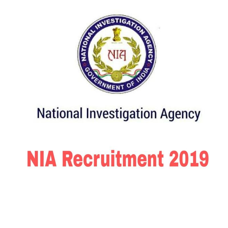 NIA Recruitment 2019