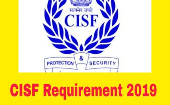 CISF ASI Recruitment 2019