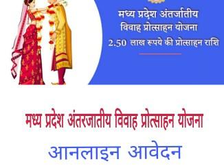 मध्य प्रदेश अंतरजातीय विवाह प्रोत्साहन योजना