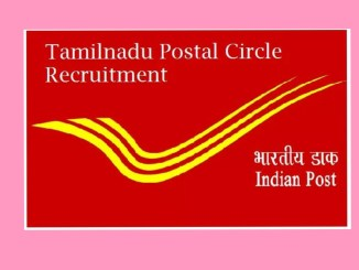 Tamilnadu Postal Circle Requirement 2019