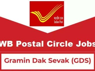 West Bengal Postal Circle Recruitment 2019