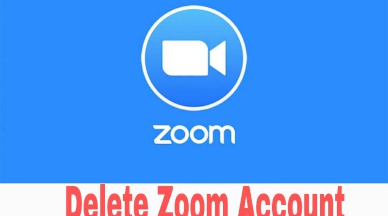 How to Delete Zoom Account