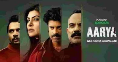Aarya Web Series Download