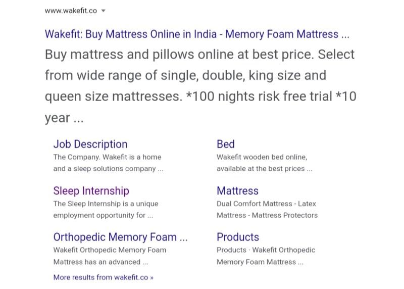 Wakefit Sleep Internship Apply Online