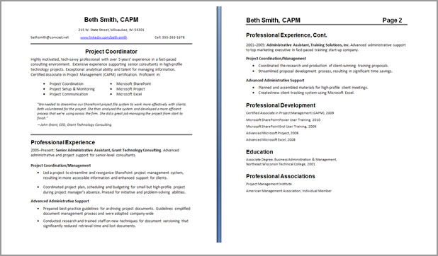 Marvelous Resume Writing For Teachers On Two Page Resumes