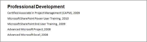 education section of resume example this section is important