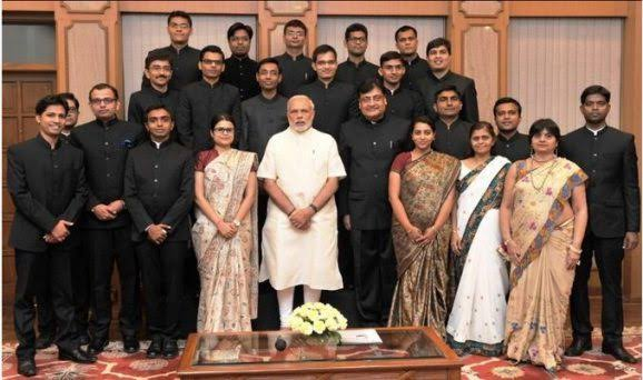 IAS Officers with PM
