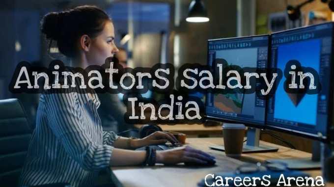 Animator Salary in India