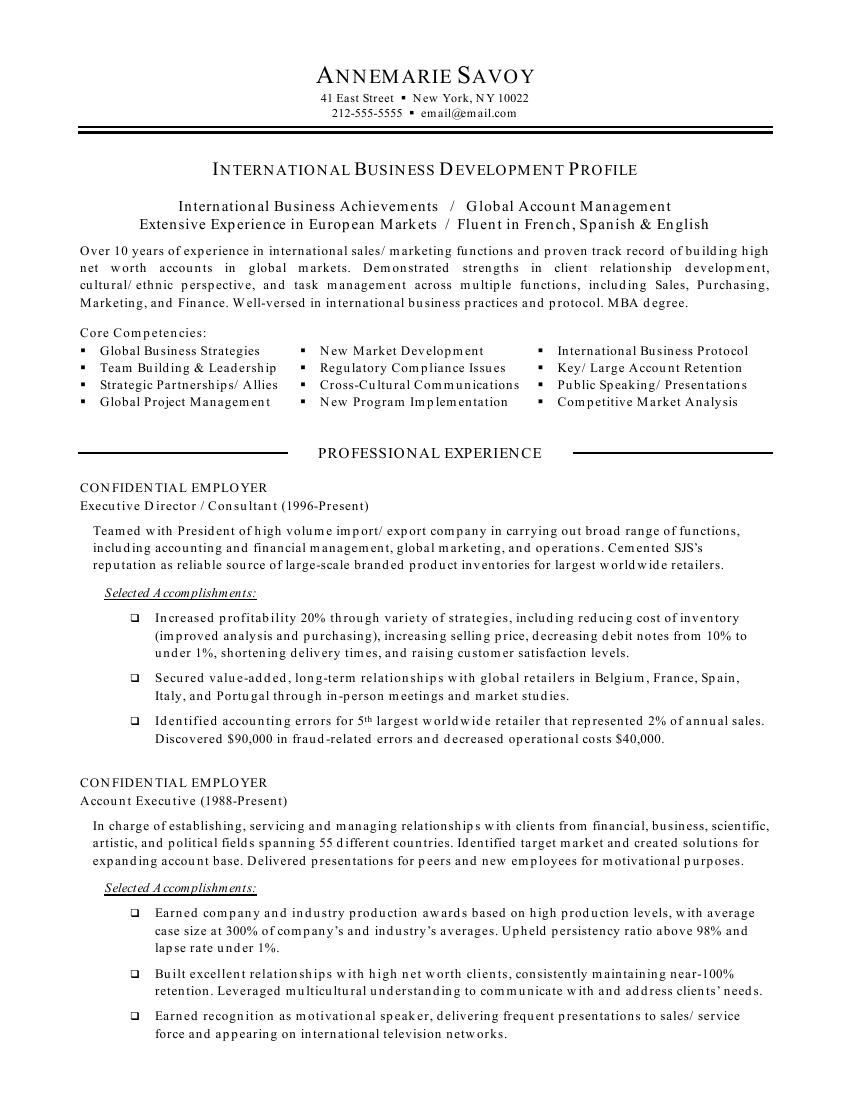 business resume business manager newsound co