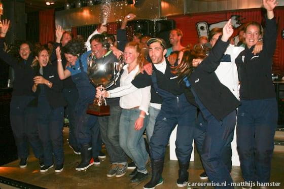 Tijdens de Race of the Classics for Young Professionals varen ruim 600 young professionals een week op 25 zeilschepen naar Engeland - Bekijk verslagen en meer foto's van 'de Rees' op www.careerwise.nl/tag/rotcyp