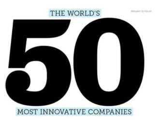 Top 50 meest innovatieve bedrijven 2013
