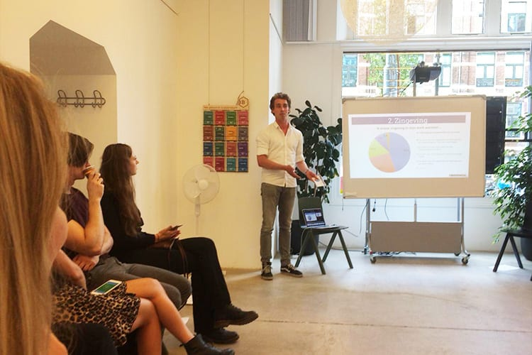 Pitch Millennials & Werk Spreker Bart Hessing Careerwise Trainers voor Young Professionals