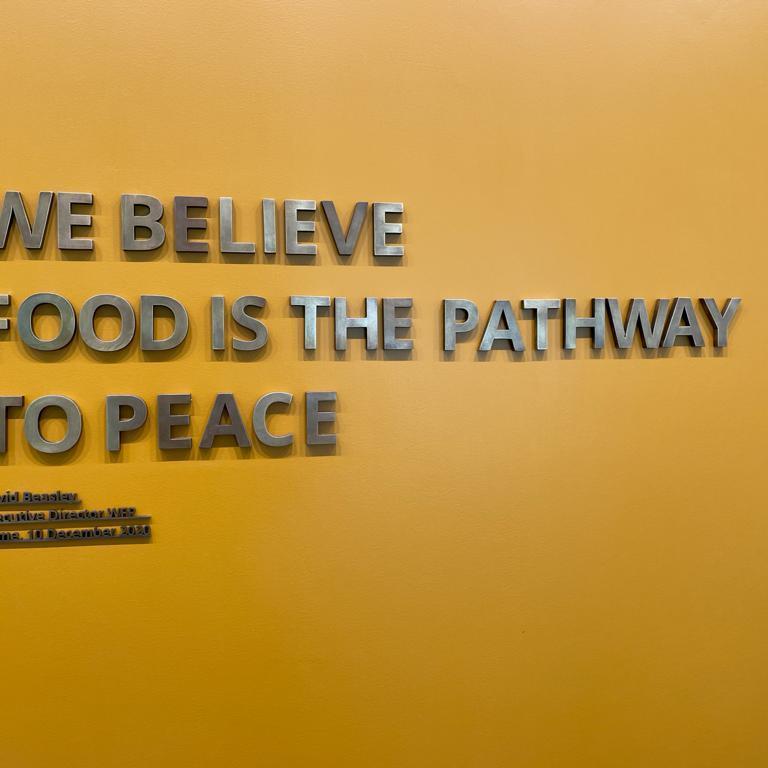Op bezoek bij World Food Programme
