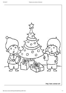 thumbnail of Dibujos para colorear de Navidad6
