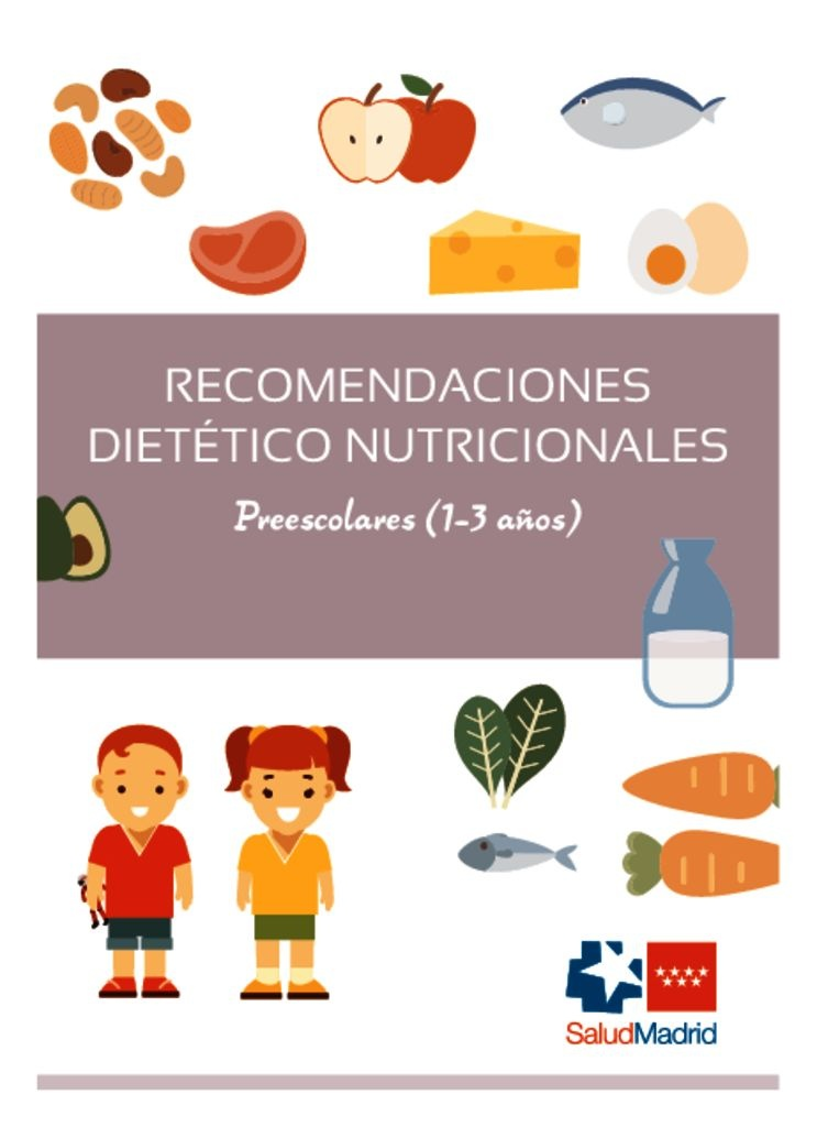 thumbnail of Recomendaciones nutricionales 1 a 3 años