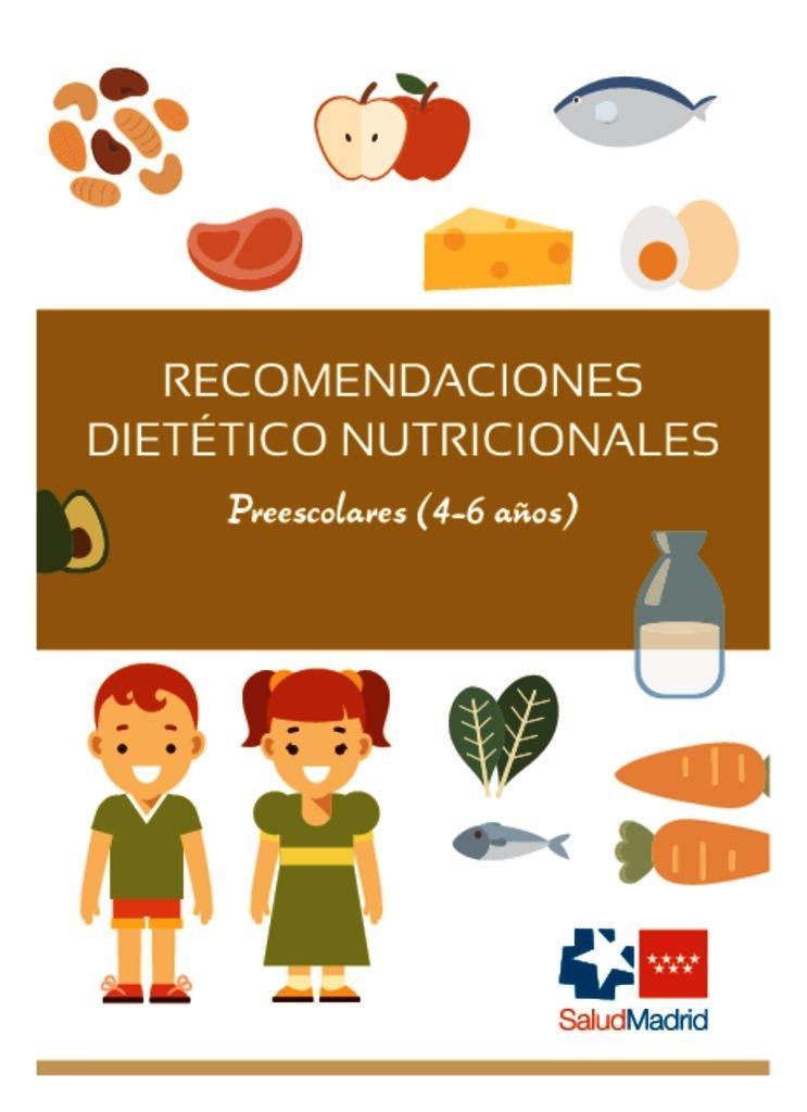 thumbnail of Recomendaciones nutricionales 4 a 6 años