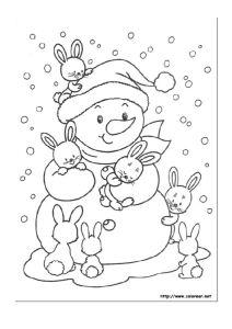 thumbnail of Dibujos para colorear de Navidad 4