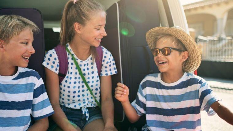 ¿Cómo sobrevivir a un viaje con niños?