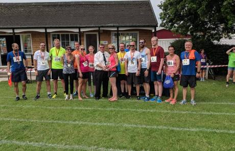 Team Torridge, winners of the fastest team trophy