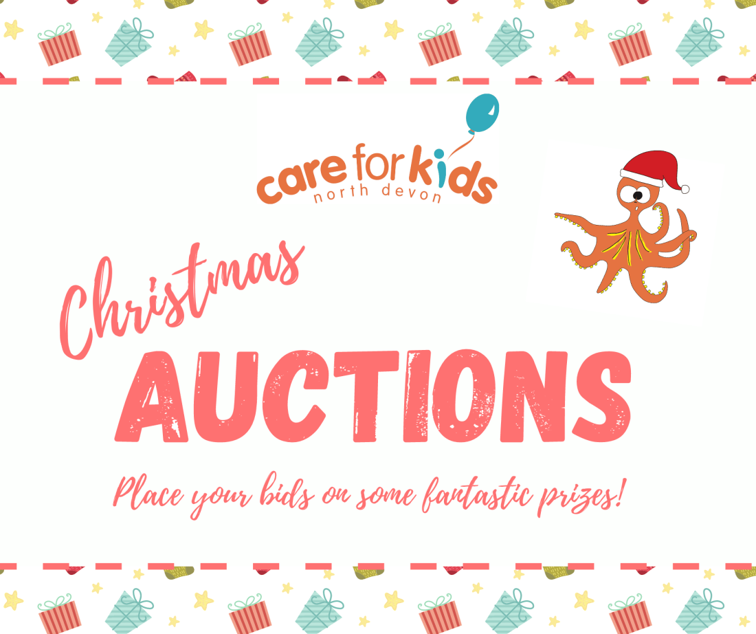 Charity auctions on Facebook