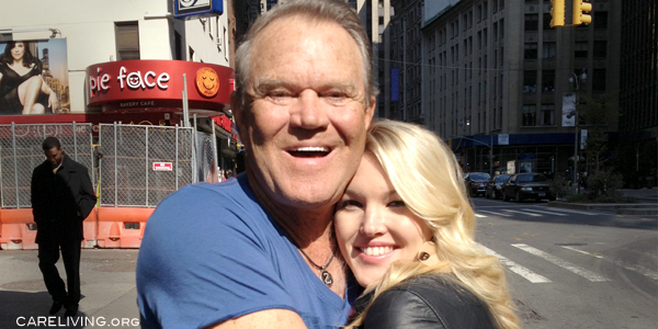 Glen Campbell and Ashley Campbell