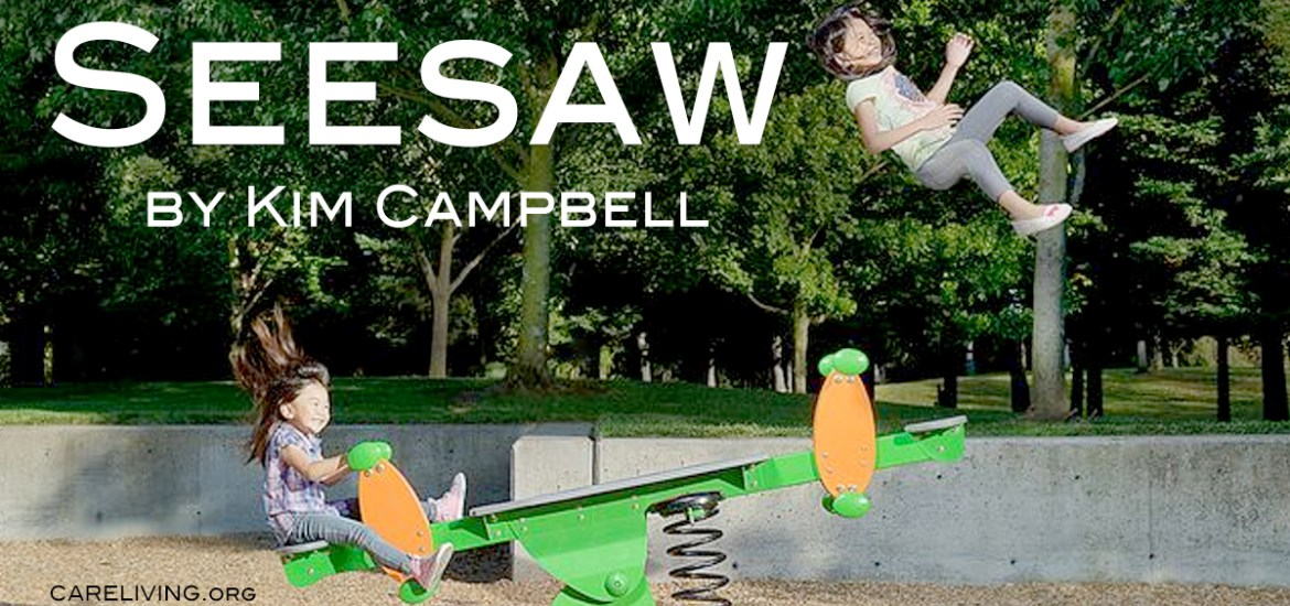 Seesaw by Kim Campbell for CareLiving.org