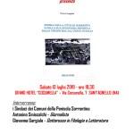 """Presentazione di """"Storia della città di Sorrento…"""""""