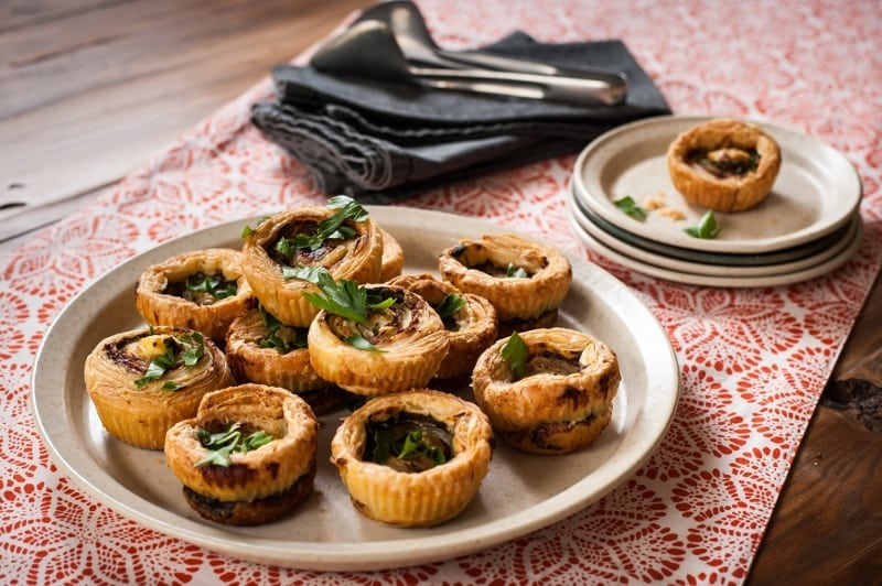 Pinwheels with Puff Pastry