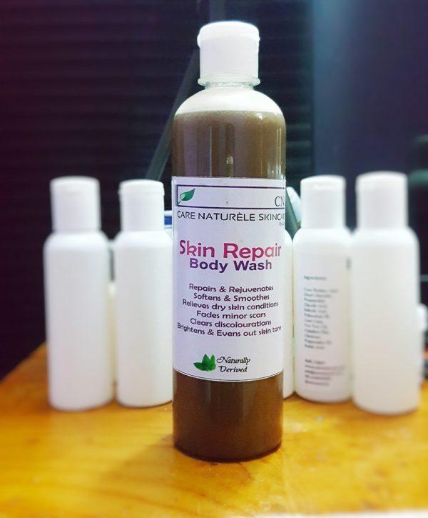 Skin repair body wash