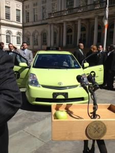 toyota prius absorbs the market place for green cabs