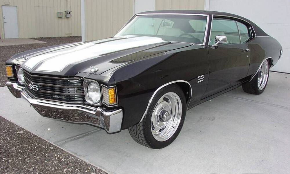 Don Jon's car – 1972 Chevrolet Chevelle SS ; The symbol of manliness