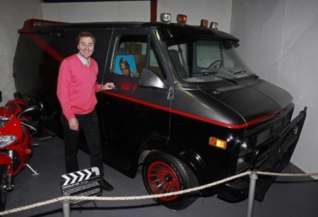 Preserving The A Team Van At Keswick Museum For Iconic Cars That Were In Movies