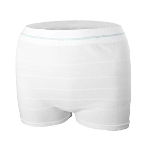 Mesh Postpartum Panties White Color 3PCS/Pack