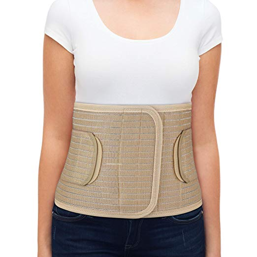 Med Rehabs Abdominal belts fits around your waist comfortably