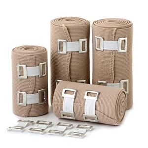 Med Rehabs Elastic Bandages sporting sprain injuries and body wraps