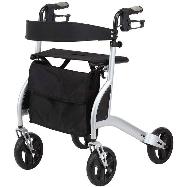 Med Rehabs Folding Walker Easy Storage and Transportation