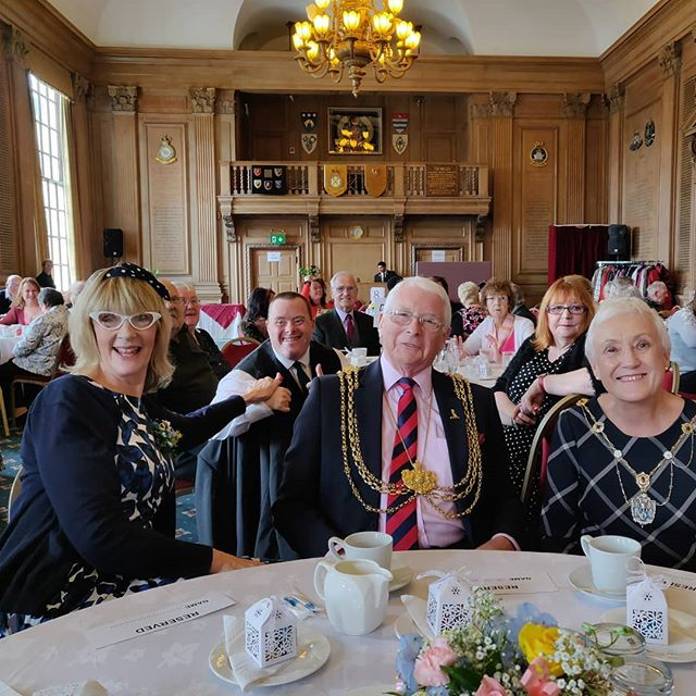 Thank you to the Lord mayor and lady mayoress for joining our dementia tea dance today