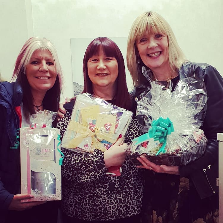 We are so lucky to have continued support from @markelstyle_intl. Heather from the Leeds office wraps beautiful gifts to give to carers at Christmas every year and they look amazing